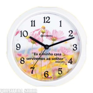 Relógio De Parede Branco Eurora