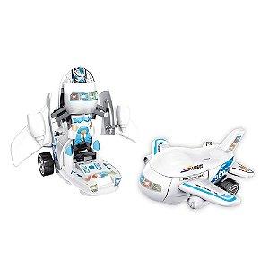 Avião Robô Transforme - BBR Toys
