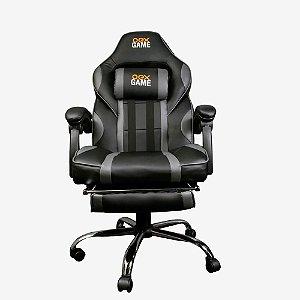 Cadeira Gamer Gc300 Preta/Cinza Oex
