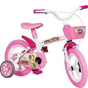 Bicicleta ARO 12 Turminha Guara Feminina Styllkids