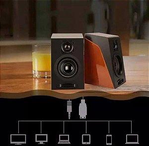 Vijodi R8 Caixa de Som para computador