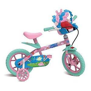 Bicicleta ARO 12 - Peppa Pig - Bandeirante