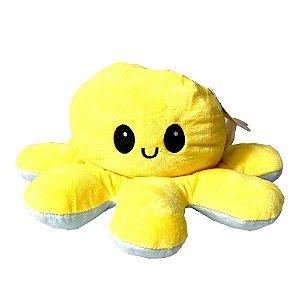 Pelucia Polvo Reversível Amarelo/Azul - Bbr Toys