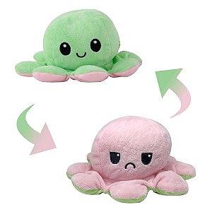Pelúcia Polvo Verde/Rosa - Bbr
