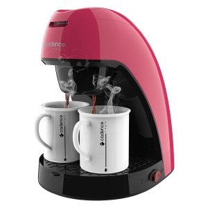Cafeteira Single Cadence Colors - Rosa Doce