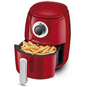 Fritadeira Sem Óleo Easy Fryer Red