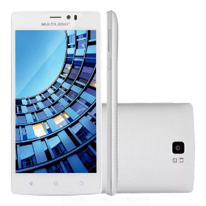 "Smartphone Multilaser Ms60 Colors Dual Chip Android Tel 5,5"" Quad Core 16GB"