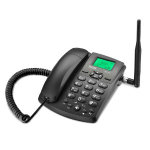 Telefone Fixo Celular de Mesa GSM Quad-band GSM100 Elgin