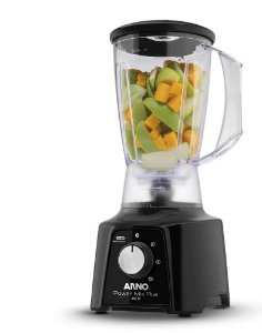 Liquidificador Arno Power Mix Plus Preto 3 Vel. 127V / 550w