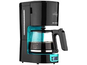 Cafeteira Elétrica Cadence Urban Inspire 127V 30 Xícaras - Preto e Azul