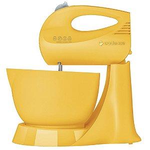 Batedeira Cadence 3,5L Jolie Colors Amarela 3 Vel. - 127V