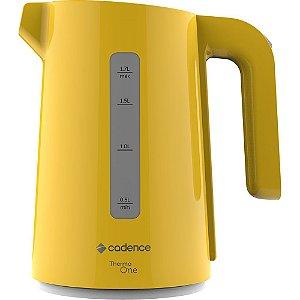 Chaleira Elétrica Cadence Colors 1,7Lts Amarelo Canário 127V