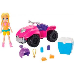 Polly Pocket Quadriciclo Fabuloso - Mattel