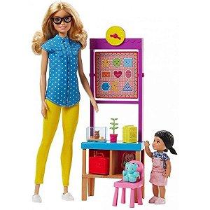 Barbie Profissões Professora Mattel