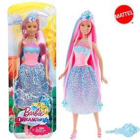 Boneca Barbie Dreamtopia - Cabelo Rosa