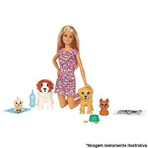 Barbie Treinadora de Cachorrinhos Mattel