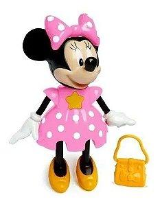 Boneca Minnie Conta Historia Elka