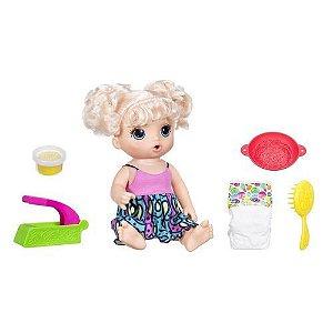 Boneca Baby Alive Espaguete Loira Hasbro