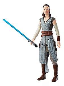 Boneco Star Wars Episódio VIII Rey Jedi - Hasbro