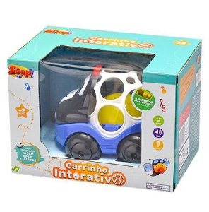 Carrinho Interativo ZP00652 - Zoop Toys