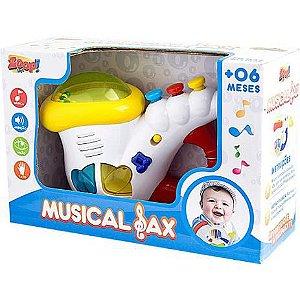 Sax Musical com Som e Luz ZP00044 Zoop Toys