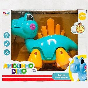 Amiguinho Dino Som Luz e Movimentos Bbr Toys
