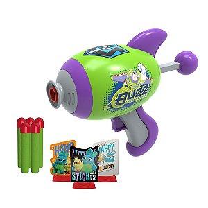 Lançador de Dardos com Alvos Buzz Toy Story - Toyng