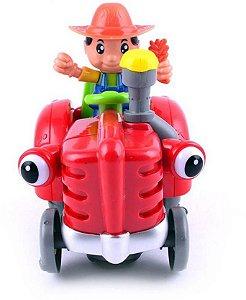 Trator Fazendeiro Samba Toys