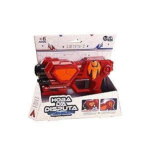 Lançador Espacial Pequeno Vermelho - Unik Toys