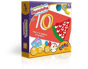 Aprendendo com massinha Números e Formas - Toyster