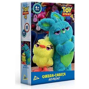 Quebra-Cabeça - 60 Peças - Disney - Toy Story 4 - Ducky e Buny - Toyster