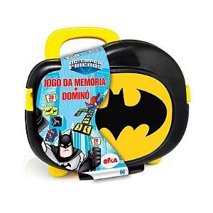 Maleta Jogo da Memória + Dominó Batman - Elka