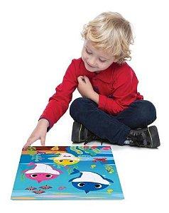 Quebra-cabeça Grandinho 28 Peças - Baby Shark - Toyster