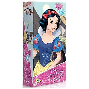 Quebra-Cabeça Metalizado - Princesa Branca de Neve - 200 peças - JAK
