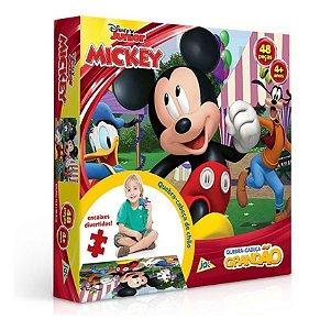 Quebra Cabeça Grandão 48 Peças Mickey Disney Toyster