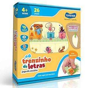Jogo Educativo - Trenzinho De Letras - Toyster