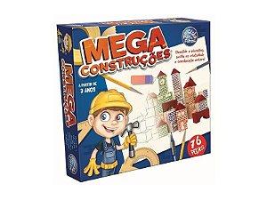 Jogo Mega Construções 76 Peças - Pais filhos