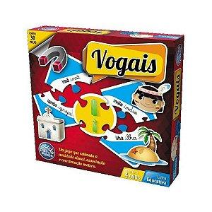 Jogo Brincar De Aprender As Vogais - Pais e Filhos