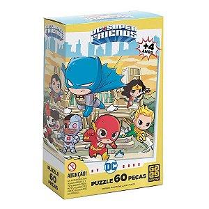 Puzzle DC SUPER FRIENDS 60 pçs Grow