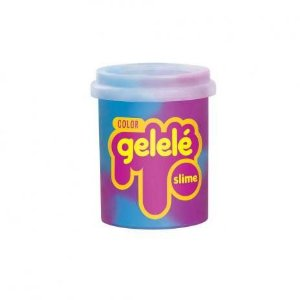 Gelelé Slime Color Roxo e Azul 152g Doce Brinquedo