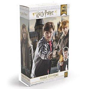 Quebra-Cabeças Harry Potter- 150 Peças - Grow