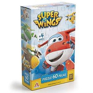 Jogo Quebra-Cabeça 60 Peças Super Wings - Grow