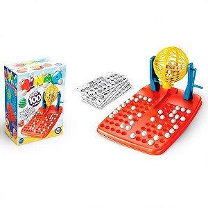 Jogo Bingo Com 100 Cartelas - Toia