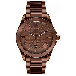 Relógio Euro Feminino Color Mix Shine Chocolate EU2315HP/4M