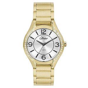 Relógio Condor Feminino Dourado Co2035krg/k4k