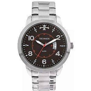 Relógio Technos Masculino Prata 2115ktm/1p