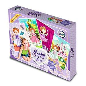 Jogo Quebra Cabeça Sophy Puzzle 100 peças - Toia