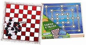 Jogos Damas e Trilha - Xalingo
