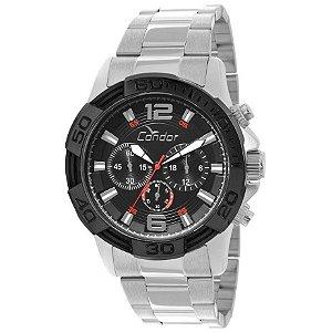 Relógio Condor Masculino Prata COVD54AB/3P