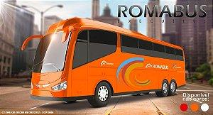 Brinquedo Ônibus Bus Executive - Roma Brinquedos